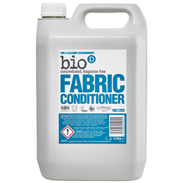 Bio D Fragrance-Free Fabric Conditioner Refill - 5 Litre