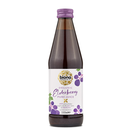 Biona Organic 100% Pure Blueberry Juice - 330ml
