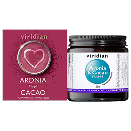 Viridian Aronia & Cacao Frappe - 30g Powder - Best before date is 20th January 2021