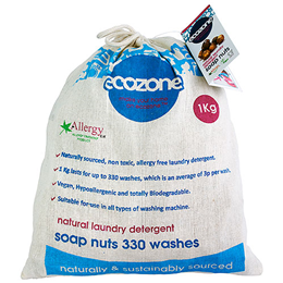 Ecozone Soap Nuts - 330 Washes - 1kg
