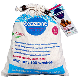 Ecozone Soap Nuts - 100 Washes - 300g
