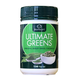 Lifestream Ultimate Greens - Ultimate Nutritional Boost - 100 Vegicaps