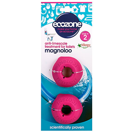 Ecozone Magnoloo - Anti-Limescale For Toilets - 2 Pack