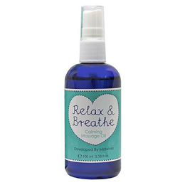 Natural Birthing Company Relax & Breathe Massage Oil - 100ml