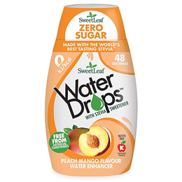 SweetLeaf Water Drops Peach & Mango - 48ml