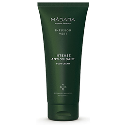 MADARA Infusion Vert Intense Antioxidant Body Cream - 200ml - Best before date is 29th February 2020