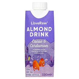LoveRaw Almond Drink - Cacao & Cardamom - 330ml