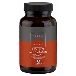 TERRANOVA Living Multivitamin WOMAN - 50 Vegicaps