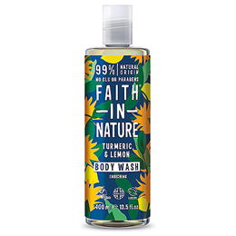 Faith in Nature Turmeric & Lemon Enriching Body Wash - 400ml