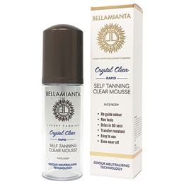 Bellamianta Crystal Clear Rapid Self Tanning Mousse - 150ml