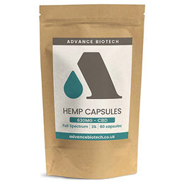 Advance Biotech Hemp CBD 3% - 60 Capsules