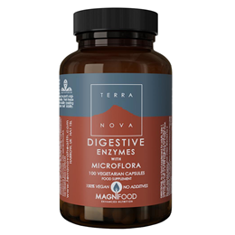 TERRANOVA Digestive Enzymes with Probiotics Complex - 100 Vegicaps