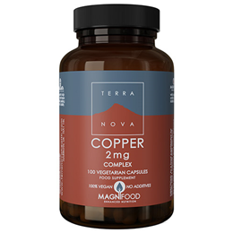 TERRANOVA Copper 2mg Complex - 100 Vegicaps