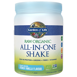 Garden of Life Raw Organic All-In-One Shake - French Vanilla - 484g