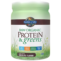Garden of Life Raw Organic Protein & Greens - Chocolate - 458g Powder