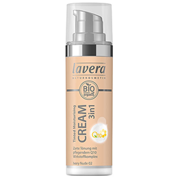 lavera Tinted Moisturising Cream 3IN1 Q10 in Ivory Nude 02 - 30ml