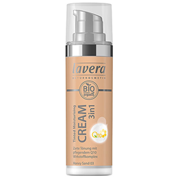 lavera Organic Tinted Moisturising Cream 3-in-1 Q10 - Honey Sand 03 - 30ml
