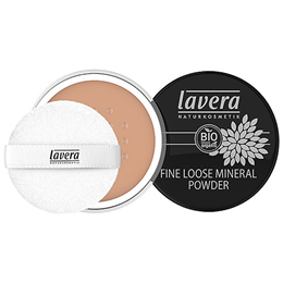 lavera Fine Loose Mineral Powder in Almond 05 - 8g