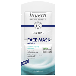 lavera Organic Neutral Face Mask - 2 Pack