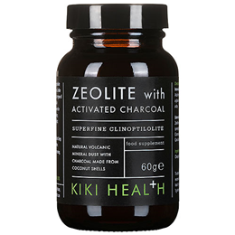 KIKI Health Zeolite With Activated Charcoal Powder - 60g
