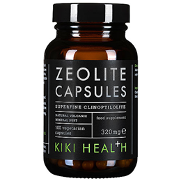 KIKI Health Zeolite - 100 x 320mg Vegicaps