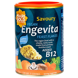 Marigold Engevita Vegan Yeast Flakes With Added Vitamin B12 - 125g