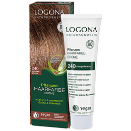 LOGONA Herbal Hair Colour Cream - 240 Nougat Brown - 150ml