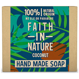 Faith in Nature Coconut Bar Soap - 100g