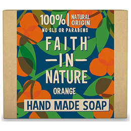 Faith in Nature Orange Bar Soap - 100g