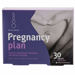 Zita West Pregnancy Plan - 30 Tablets