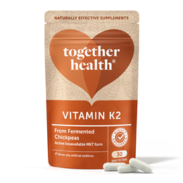 Together Vitamin K2 - Natural MK7 Form - 30 Vegicaps
