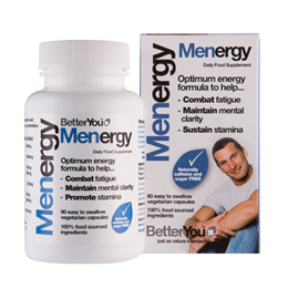 BetterYou Menergy - Multinutrient for Men - 60 Capsules