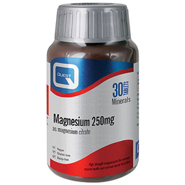 Quest Magnesium - 30 x 250mg Tablets