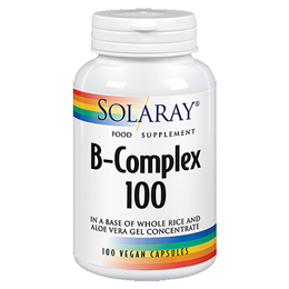 Solaray B-Complex 100 - 100 Vegicaps