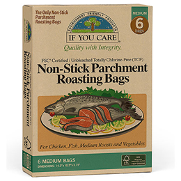If You Care Non-Stick Parchment Roasting Bags - 6 Pack