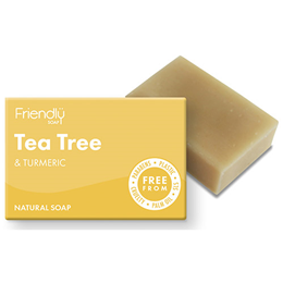 Friendly Soap Tea Tree & Turmeric Bar Soap - 95g