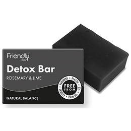 Friendly Soap Rosemary & Lime Detox Bar - 95g