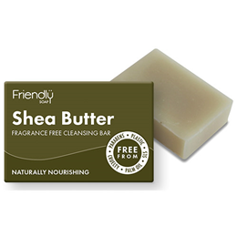 Friendly Soap Shea Butter Cleansing Bar - 95g