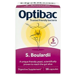 OptiBac Probiotics Saccharomyces Boulardii - 16 Vegicaps