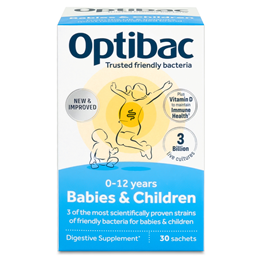 OptiBac Probiotics For Babies and Children - 30 Sachets