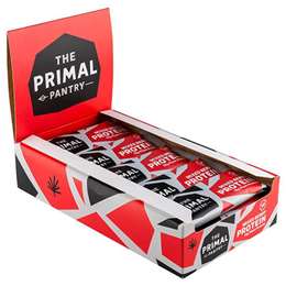 The Primal Pantry Mixed Berry Protein Bars - 15 x 55g