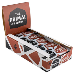The Primal Pantry Double Espresso Protein Bars - 15 x 55g
