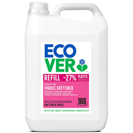 Ecover Apple Blossom & Almond Fabric Softener Refill - 5 Litres