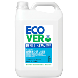 Ecover Camomile & Clementine Washing Up Liquid Refill - 5 Litres
