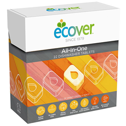 Ecover All in One Dishwasher Tablets - 22 Tablets