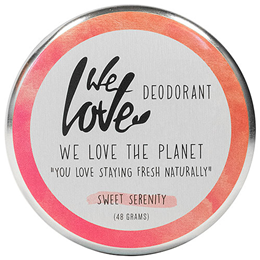 We Love The Planet Sweet Deodorant Cream - 48g