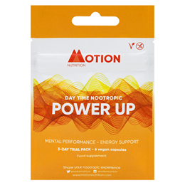 Motion Nutrition Power Up: Day Time Nootropic - 3-Day Trial Pack
