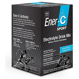Ener-C Sport Mixed Berry Electrolyte Drink Mix - 12 Sachets