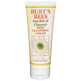 Burt`s Bees Soap Bark and Chamomile Deep Cleansing Cream - 170g