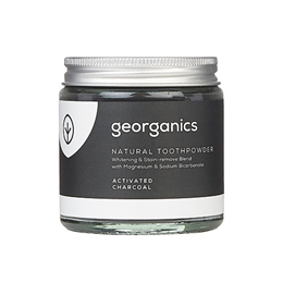 Georganics Natural Toothpowder Activated Charcoal - 60ml